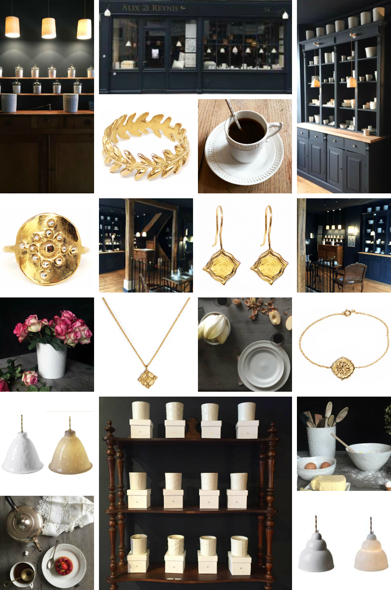 Alix D. Reynis ouvre sa boutique Parisienne
